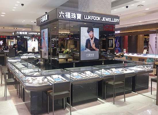 南京珠宝展柜展示柜制作安装