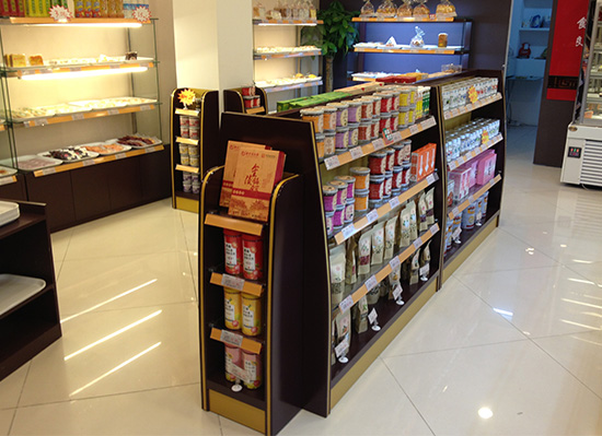 南京冠生园食品展示柜展柜