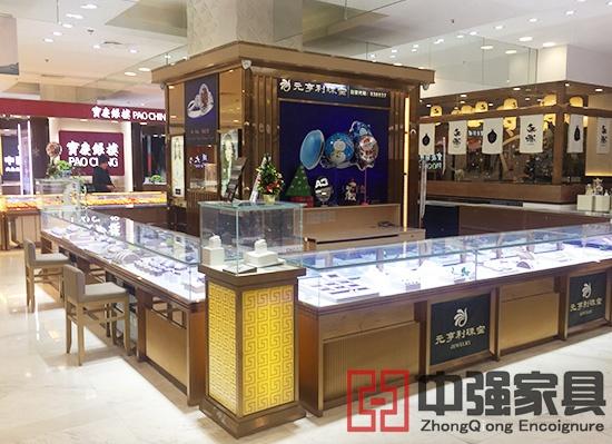 商场专卖店珠宝展示柜珠宝柜台定做