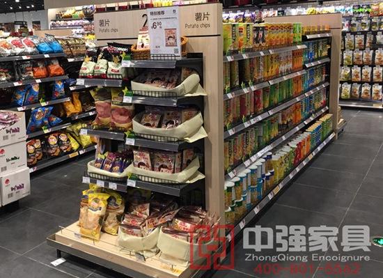 南京江宁景枫超市零食展柜