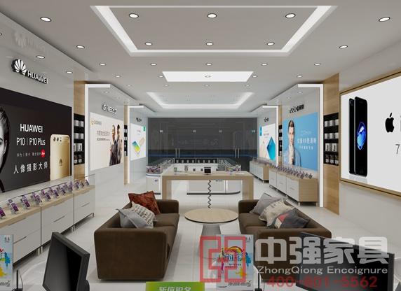 丹阳洪飞手机卖场展柜制作及店面装修一体化服务
