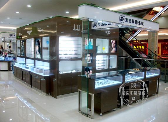 南京宝岛眼镜展柜定做安装服务