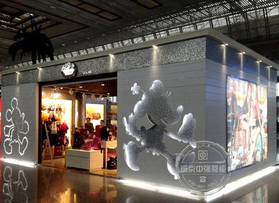南京南站迪士尼Disney玩具专卖店展示柜