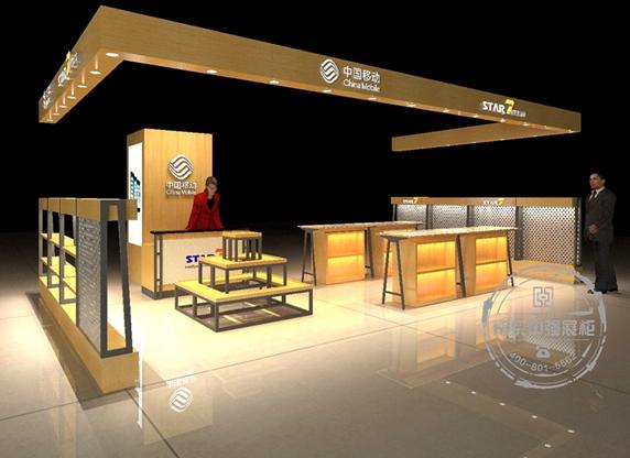 七星数码star7通信行业数码展柜设计制作