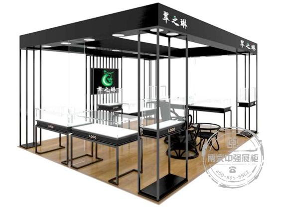 商场卖场珠宝展柜设计定做安装服务