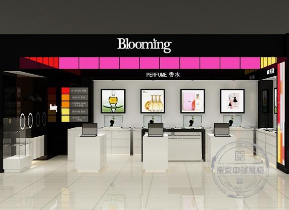 宿迁中央商场Blooming化妆品展柜