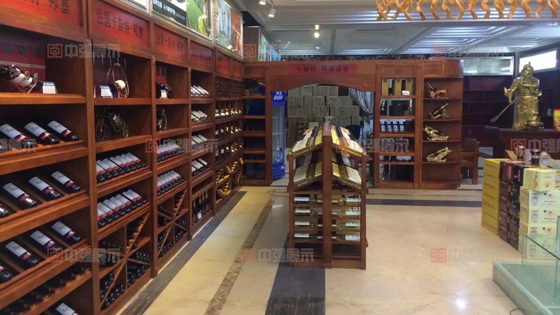 南京烟酒柜设计制作