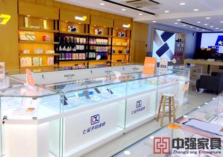中国电信4G嗨卡手机店展柜制作