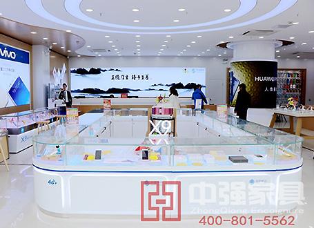 南京江宁万达中国移动4G手机城展柜及装修
