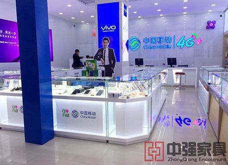 南京地区移动4G手机柜台展柜
