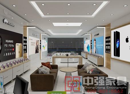 镇江中国移动4G手机展柜设计制作