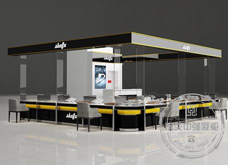 宜兴Skafu珠宝展示柜设计制作安装服务