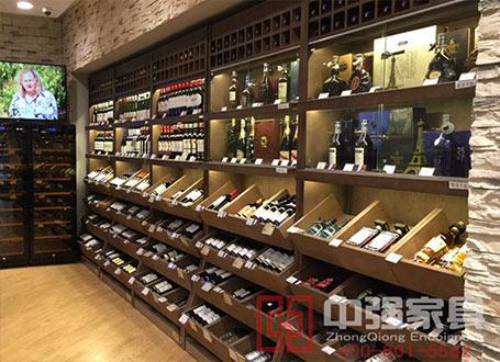 南京镇江扬州高档红酒展柜