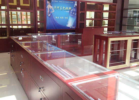 南京盐城中国烟草烟酒展柜展示柜