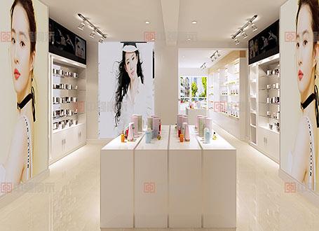 南京化妆品专柜制作