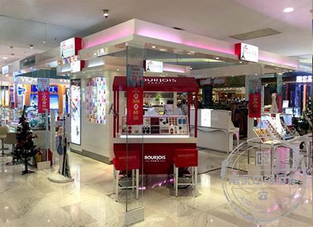 商场超市专卖店化妆品展柜制作厂家