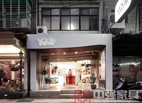 服装内衣Voda swim展柜设计制作