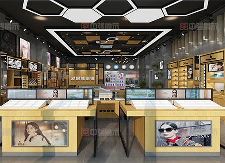 南京眼镜店装修设计