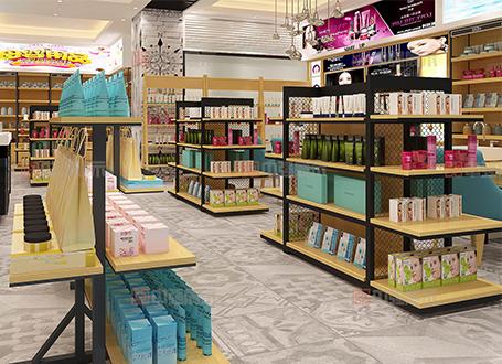 南京化妆品店专柜设计