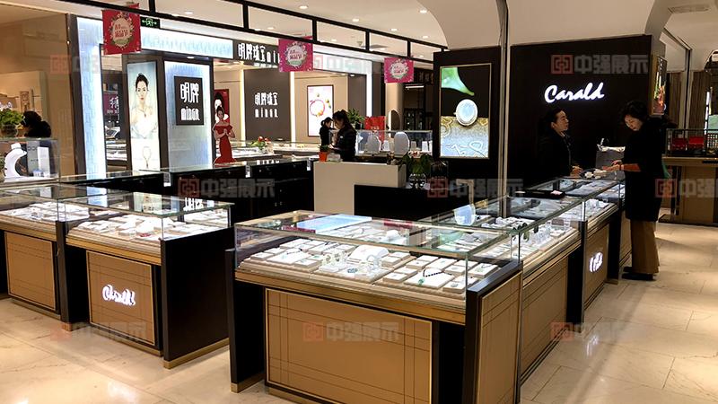 做一个珠宝柜台多少钱?珠宝展柜多少钱一米?