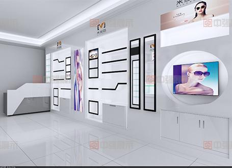 眼镜店柜台设计