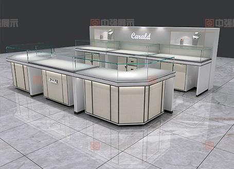 杭州衣之家卡瑞德珠宝展柜设计