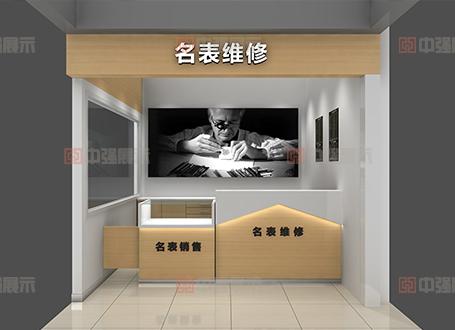 苏果超市钟表店展柜设计