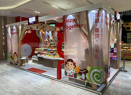 南京食品展柜定做