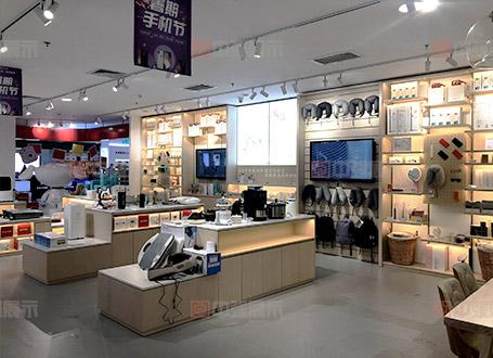 京东之家展示柜柜台产品柜定做厂家