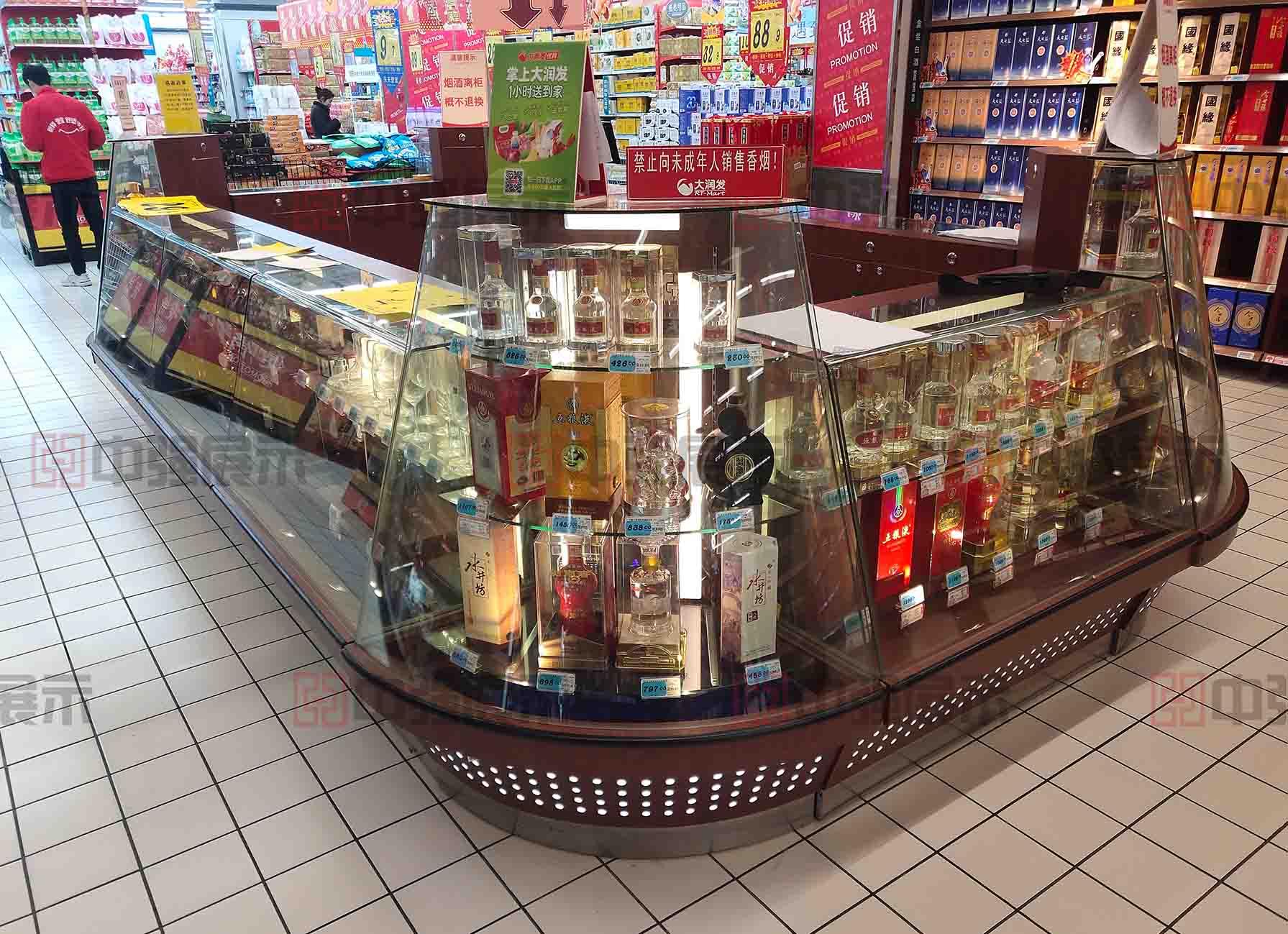 南京超市烟酒柜台定做