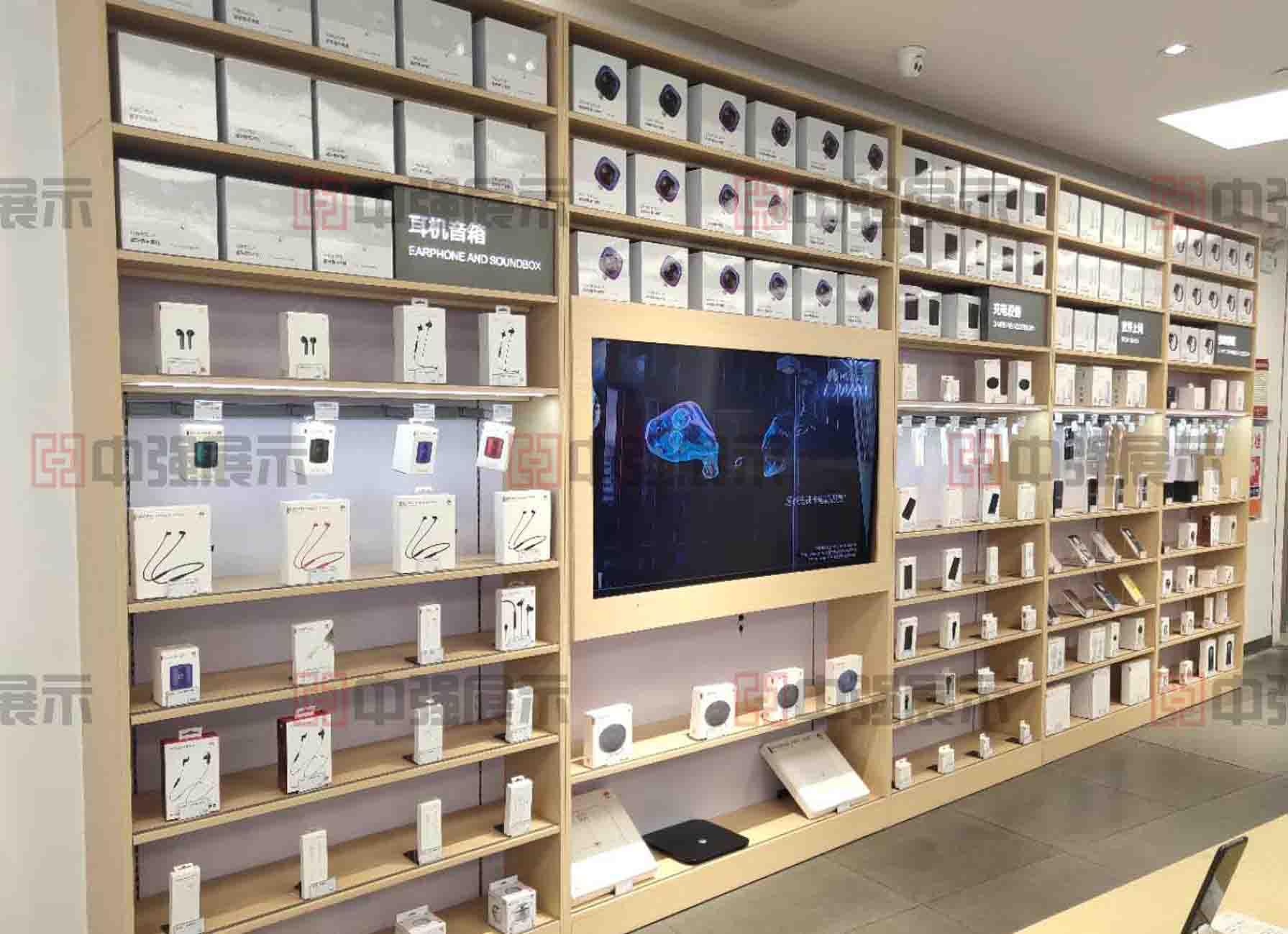 南京苹果手机体验店展柜展示柜定制